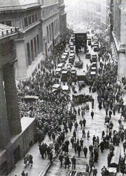 Black Friday am 25.Oktober 1929