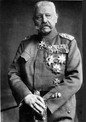 Paul von Hindenburg starb 1934