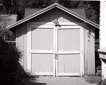 Diese Garage diente 1939 als Firmensitz für Hewlett-Packard (HP)