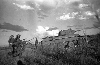Japanische Soldaten im Grenzkrieg gegen die Sowjetunion im Jahr 1939