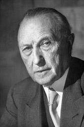 Konrad Adenauer wurde 1949 Bundeskanzler