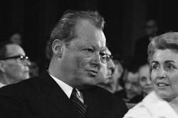 Willy Brandt wurde Bundeskanzler im Jahr 1969