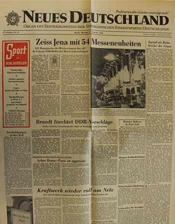 29 DDR Neues Deutschland November 1988 Geburtstag Hochzeit 26 27 28 30 SED