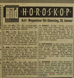 Horoskop Bildzeitung